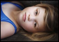 Daughter (Mark Emirali) Tags: light newzealand portrait blur girl canon hair kid intense eyes dof child daughter nz aotearoa windowlight copyrighted 70200f28l pleasedonotusewithoutmypermission maloe4 5dmkii canon5d2 maloephoto maloephotography markemirali markemiraliphotography