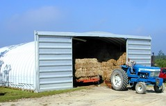 SteelMaster Metal Hay Storage Building