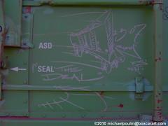 Faves ( boxcar art freight train graffiti ) (4 I ARCHIVES) Tags: railroad art train graffiti michael sketch artist tag n tags deal faves worker network boxcar streaks hobo freight 07 fs 2007 poulin wh monikers moniker nfha boxcarartcom