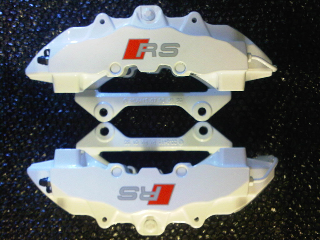 Gloss White B7 Rs4 Front Amp 8p S3 Rear Brakes 194 163 1900