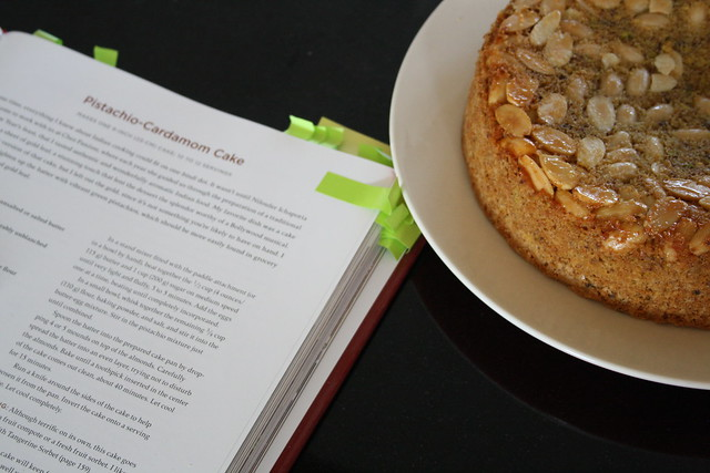 Cardamom Pistachio Cake.