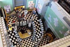 Lobby Full Room (Imagine) Tags: tower architecture airplane toys lego billboard artdeco rapture littlesister bigdaddy moc watercity bioshock lifelites imaginerigney brickworld2011