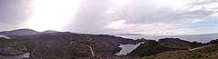 Cap de Creus (anniagavañach) Tags: sea mountains clouds mar rocks mediterraneo panoramica cape costabrava mediterrani mediterranenan altemprodà