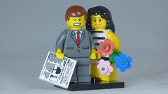 Brick Yourself Custom Lego Figure A Happy Couple