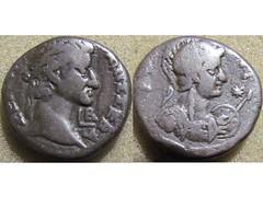 Galba (Baltimore Bob) Tags: coin money ancient silver billon tetradrachm egypt egyptian rome roman empire imperial colony colonial alexandria galba emperor roma