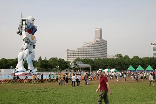 Gundam RX78 contra Ernesto