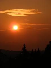 Sunset (Last Hero) Tags: sunset summer june juni evening abend sonnenuntergang sundown sommer franken 2009 nachbarn ih colorphotoaward s5800 ashowoff