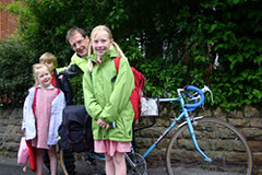 Leaving them to cycle to Scotland