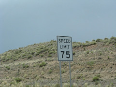 Speed Limit 75!
