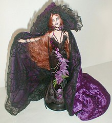 Wolfsbane Barbie (plumaluna07@sbcglobal.net) Tags: werewolf vampire ooak gothic barbie