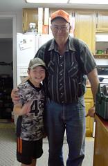 Grandpa and Hunter (wyo92) Tags: family love grandfather grandpa grandson wyoming worland