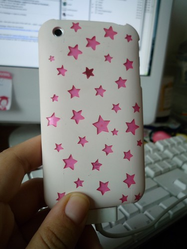 pink and white iphone case. This is my iphone casing!