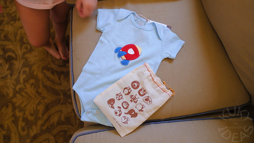 Onesie for the boy from Jakc Designs