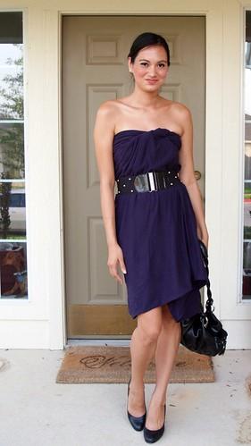 Circle Scarf dress
