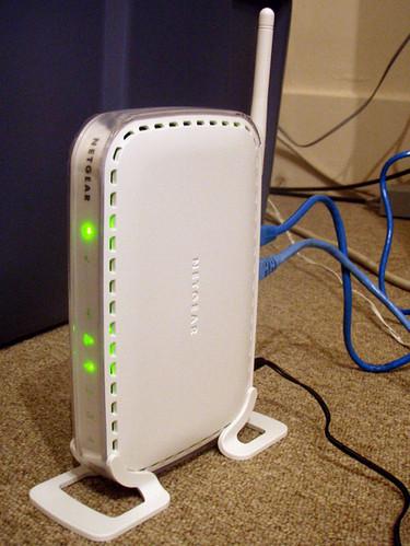 07.24.09: Netgear Router