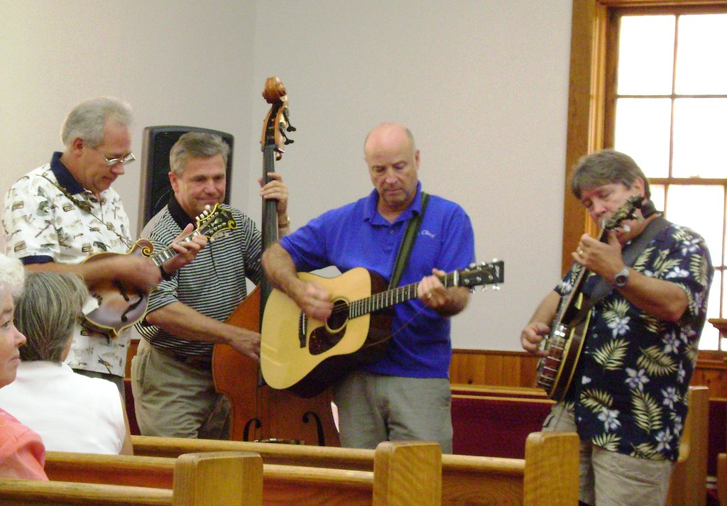 Obids Baptist Church Ashe County Homecoming Rain Check Bluegrass Band