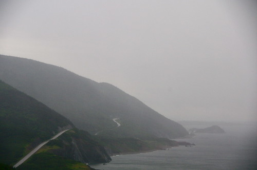 Rain on the Cabot Trail