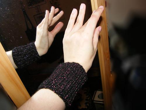 Sparkly Wristwarmers