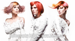 Hair color avantgarde (BABAK photography) Tags: usa color texture fashion hair photographer north makeup american psycho babak awards naha styling haircolor goldwell avantgarde finalist nahaawards babaked babakphotographer lauradimarcantonio