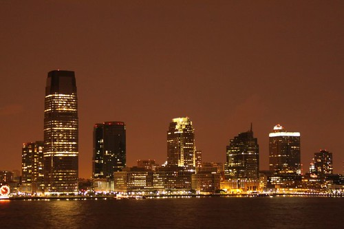 Jersey City from Manhattan...