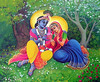 Radha and Krishna Relax In Garden - ISKCON desire tree (ISKCON Desire Tree) Tags: vishnu demon krishna garuda kidnap radha gopis rukmini chaitanya radhakrishna iskcon narasimha madhava bhumi govardhan bhima lordvaraha