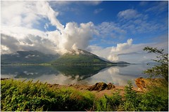 Loch Linnhe (krobbie) Tags: sky lake nature clouds geotagged scotland nikon random getty loch schotland linnhe krobbie nikoncapturenx d700 nikond700 1424mmf28g geo:lat=56700813 geo:lon=5198636