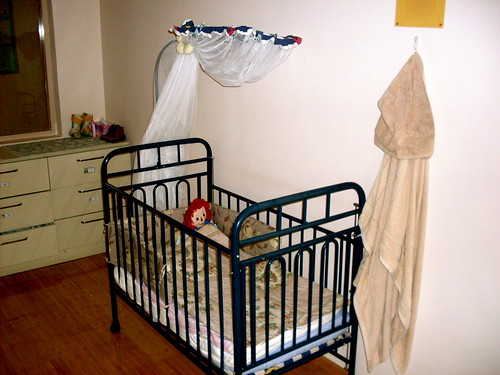Ellis' crib at Hope