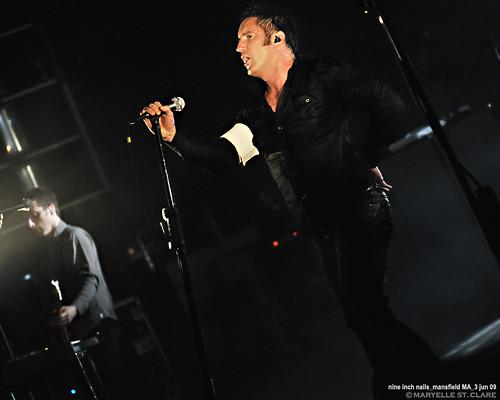 Justin Meldal-Johnsen & Trent Reznor | Nine Inch Nails @ Mansfield 6/3/09