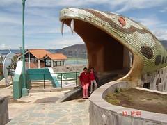 La boca de la serpiente en PUNO (♫ AYMARITA® ♫ I'M Comeback) Tags: 2006 puno carnavales juliaca sikuri asociacionjuvenilpuno estilokotos