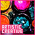 Artistic/Creative lifestyle fan
