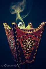 Welcome Ramadan.. (5. ) Tags: ramadan kreem mubark 3leekom alshaher               a5eramaly a5er amaly dark colours smoke