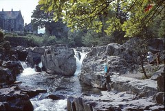 That Rock In Betws-Y-Coed (davidneal) Tags: ilford canoscan advocate 8800f