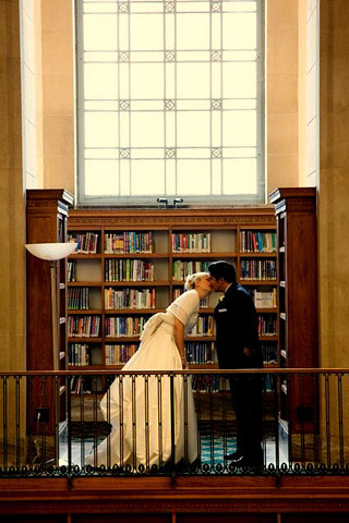 Indianapolis Central Library Wedding