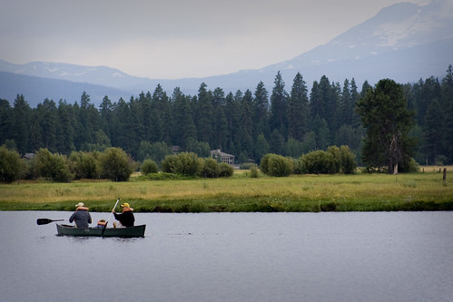 Canoeing in Black Butte