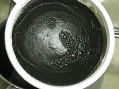 IMG_3677 (gfixler) Tags: ink walnut nuts stove howto castiron making fryingpan frypan simmering simmer juglans juglansregia englishwalnut juglone persianwalnut commonwalnut
