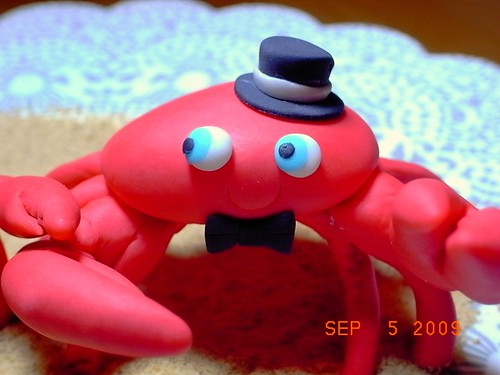 Fondant Crab Groom