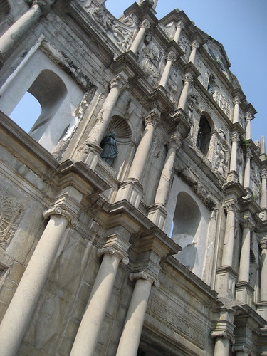 Ruins of The Church of St Paul, Macau