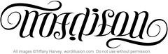 """""""Madison"""" Ambigram"""