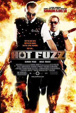 Hot Fuzz movie poster by evpl.
