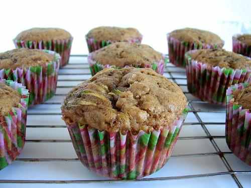 MSC Zucchini Spice Cupcakes
