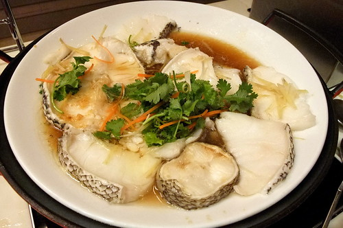 Steam Cod Fish