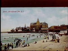 a1776 (Providence Public Library) Tags: thebeach narragansett postcardcollection narragansettpier narragansettpierri rhodeislandimages pc7526