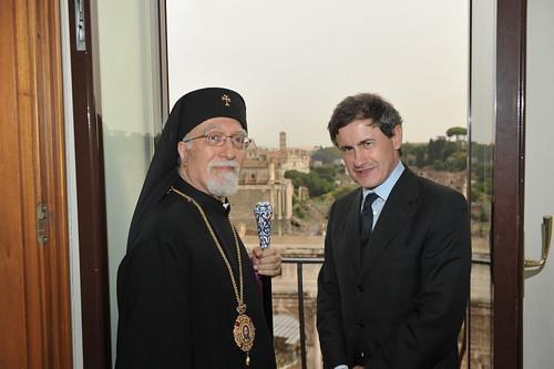 Il Patriarca armeno in Campidoglio