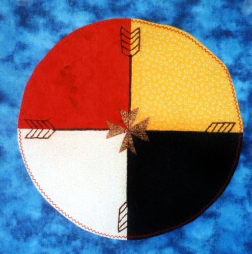 lakota medicine wheel. Lakota 4 arrow Medicine Wheel
