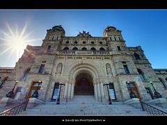 Home to the Legislative Assembly of British Columbia (David Gn Photography) Tags: victoriabc innerharbour parliamentbuildings photomatix 6xp nothdr govermentstreet legislativeassemblyofbritishcolumbia exposurefusion sigma1020mmf35exdchsm canoneosrebelt1i