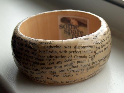 Pride & Prejudice bracelet