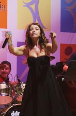 Cristina D'avena + Gem Boy (Roberta_c) Tags: boy music concert campania cristina centro commerciale concerto musica festa gem cartoni canzoni animati davena