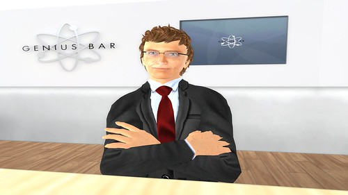 Virtual Bill Gates