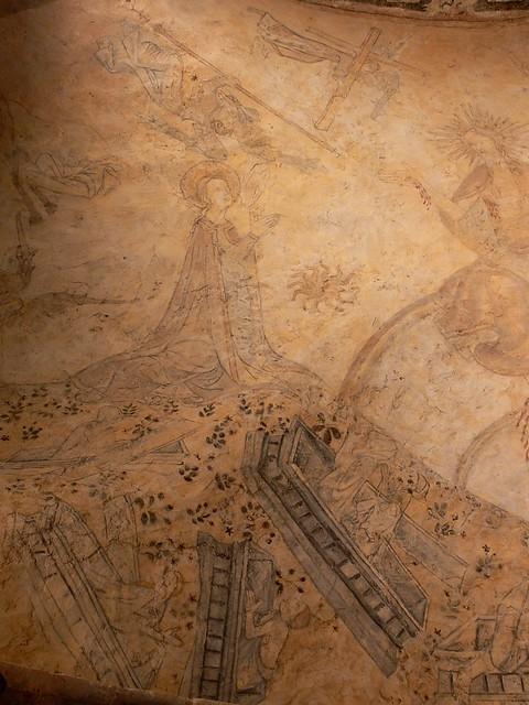 Medieval Fresco Last Judgment France