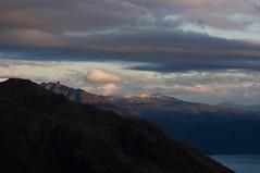 雪化粧の空沼岳